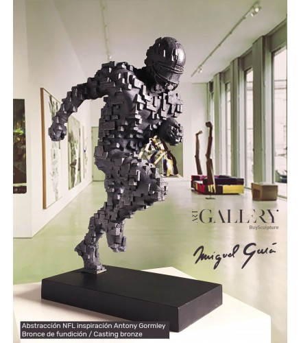 Abstraktion NFL Antony Gormley Inspiration