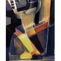 Tridimensional Cubism Harlequin