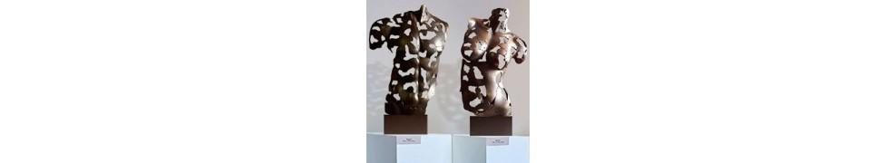 Abstrakte Skulpturen