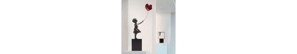 Skulpturen Kinder